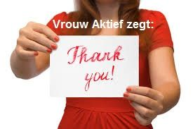VA zegt thank you